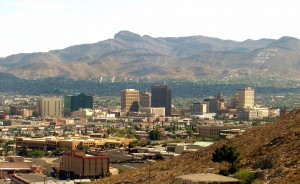 Here's a little bit about the real El Paso, located on the border.